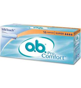 O.B. Super tamponi 16 kom. - Sil Touch - Pro Comfort